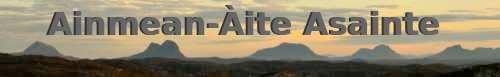 Place Names of Assynt - Ainmean-Àite Asainte